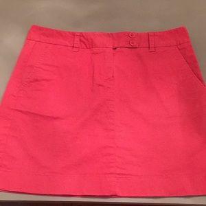 Vineyard Vines Mini Skirt Cotton Spandex Sz 6